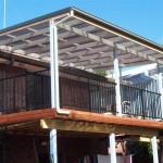 Deck & Pergola above Roof