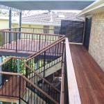 Deck, Steps & Aluminium Rails with Merbau Capping