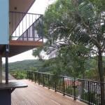 Deck with Aluminium Childproof Rails