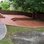Split level deck