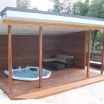 Deck spa & gazebo Sydney Northern Beaches