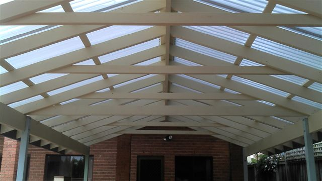 Pitched Roof Pergola Precision Decking