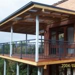 Deck & Pergola with Aluminium Rail