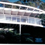Curved Deck With Glass Rails
