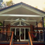 Deck with Tiled Roof & Gyprock
